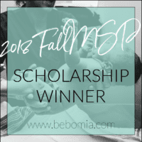 bebo mia doula training scholarship winner